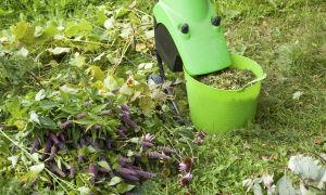 Как выбрать садовый измельчитель для веток и травы